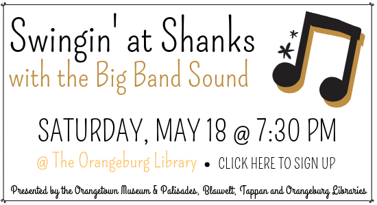 Click here to sign up for Swingin' at Shanks with the Big Band Sound.
