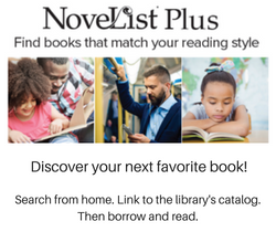 NoveList Plus: Find Books That Match Your Reading Style