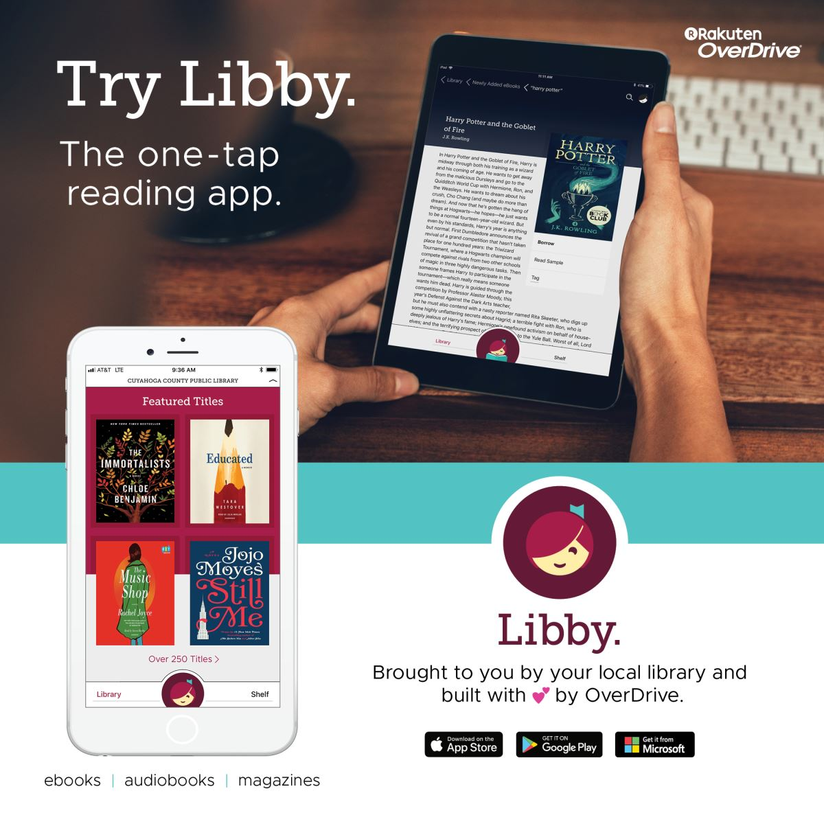 Libby: E-Book and Audiobook App